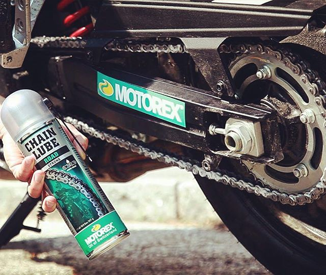 motorex advertising chain lube road
