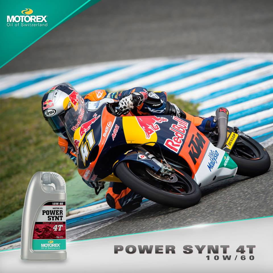 motorex power synt 10w60 motor ktm